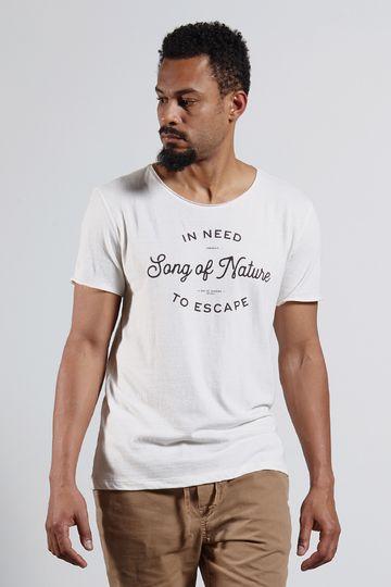 Ref.8204509-18428----T-shirt-mc-malha-songs-of-nature-Cor-Off-White---R-5800-02_frente