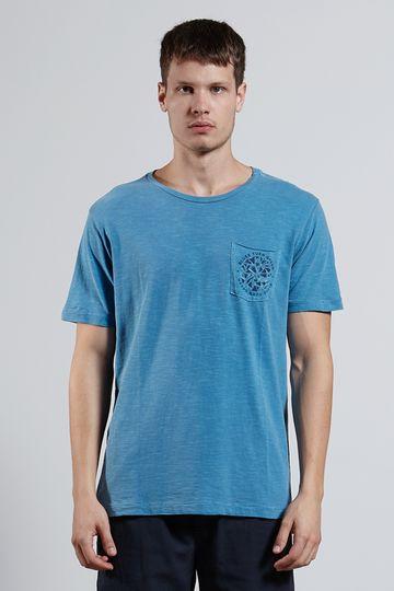 Ref.-17723---T-shirt-mc-malha-turn-green-Cor-Azul_frente