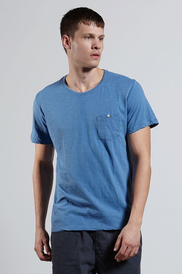 Ref.-18350---T-shirt-mc-malha-flame-basic-pocket-Cor-Azul_frente