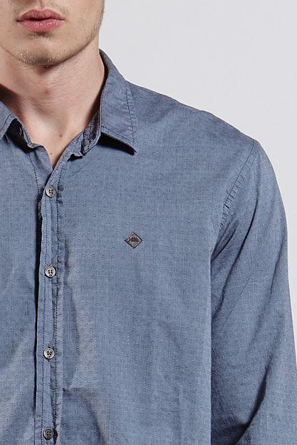 Ref.-8204367-18302----Camisa-ml-alg-jacquard-chicago-Cor-Azul---R-12600-04_detalhe