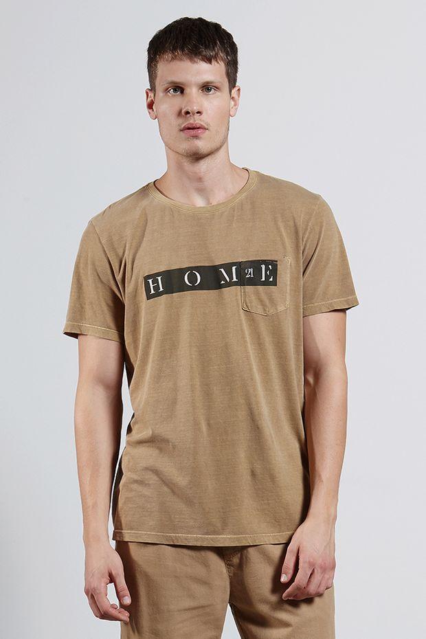 Ref.-8204257-18229----T-shirt-mc-malha-home-21-Cor-Caqui---R-5400-03_frente