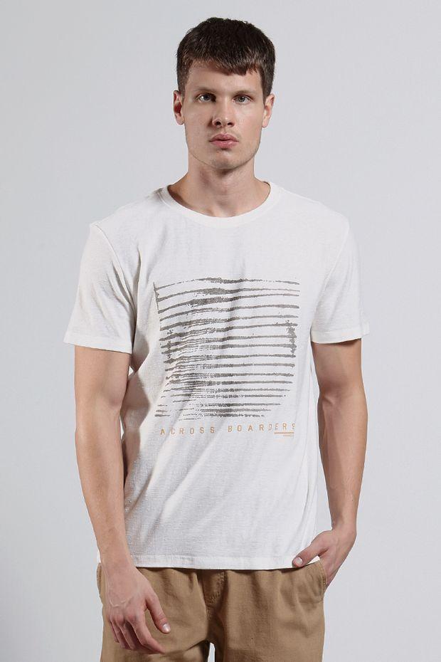 Ref.-8204258-18230----T-shirt-mc-malha-across-border-Cor-Off-White---R-6300-03_frente