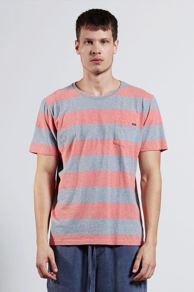 Ref.-8204490---T-shirt-mc-malha-wide-stripe-pocket-Cor-Salmao---R-6300-01