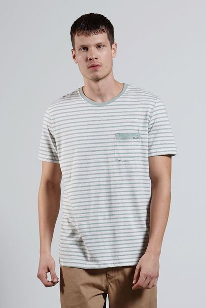 Ref.-18425---T-shirt-mc-malha-Recycle-Stripe-Verde_frente