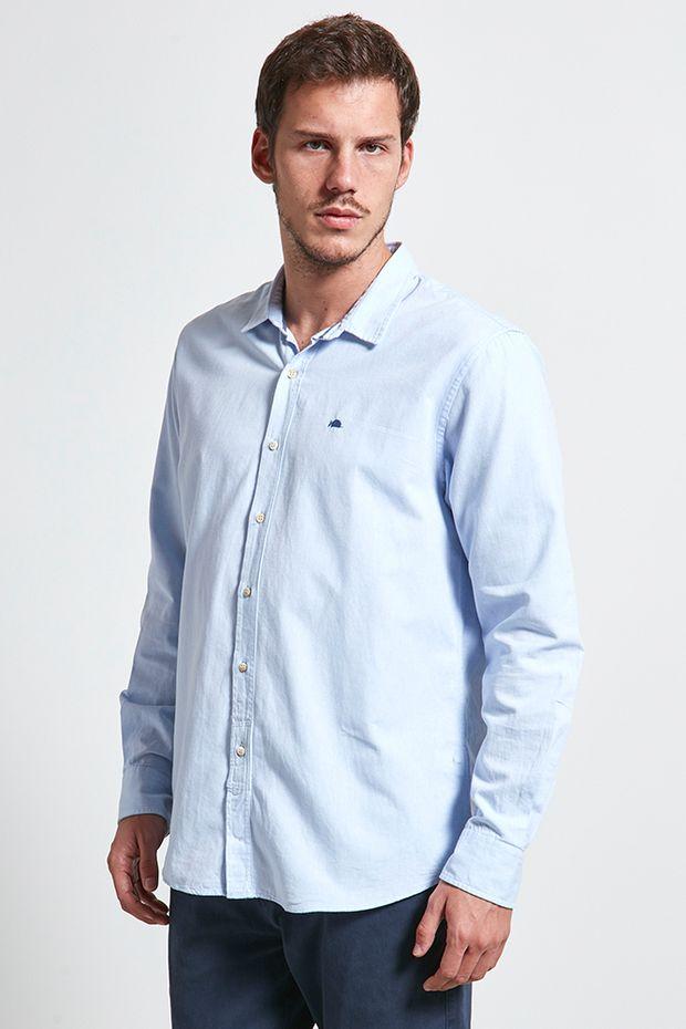 Camisa Masculina  Jeans 86a66666af342