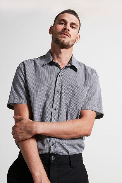 Ref.-18877---Camisa-algodao-xadrez-grow-preto---detalhe