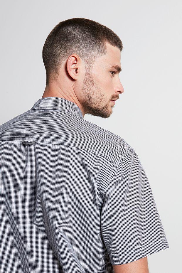 Ref.-18877---Camisa-algodao-xadrez-grow-preto---costas