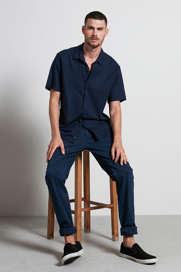 Ref.-18913---Camisa-algodao-reef-marinho---frente