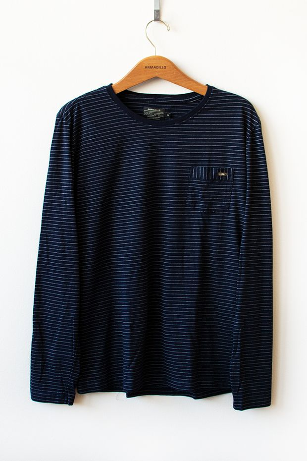 Ref-18636-Tshirt-ML-Malha-Soul-Pocket-Azul-1