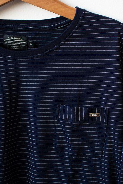 Ref-18636-Tshirt-ML-Malha-Soul-Pocket-Azul-2